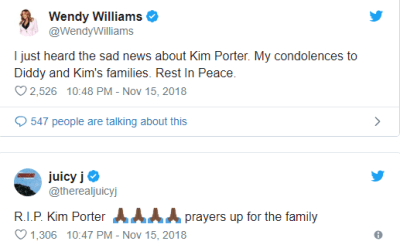Diddy's ex,Kim Porter is Dead