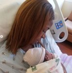 Blogger, Linda Ikeji welcome baby J
