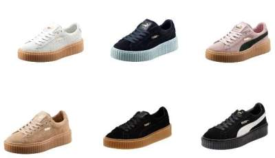 Image result for Rihanna's Fenty x Puma Creeper