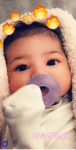 Kylie Jenner share first photo of daughter,Stormi's face