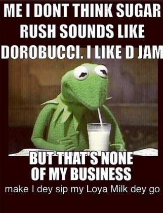 Me I Don't Think Sugar Rush Sounds Like Dorobucci - Don Jazzy