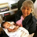 John Legend's Baby Meets Her Great Grand mum & Grandmum