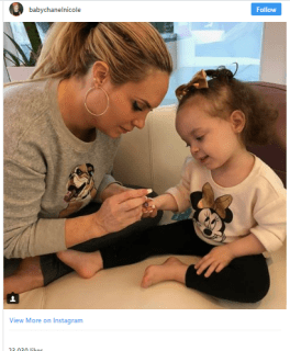 Coco Austin share nursing photo with 30-month-old daughter and receive praise from moms