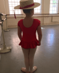 Check Out Victoria Beckham's Daughter Ballet Style
