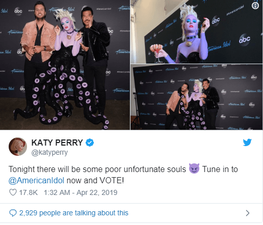 Katy Perry's Disney style for American Idol