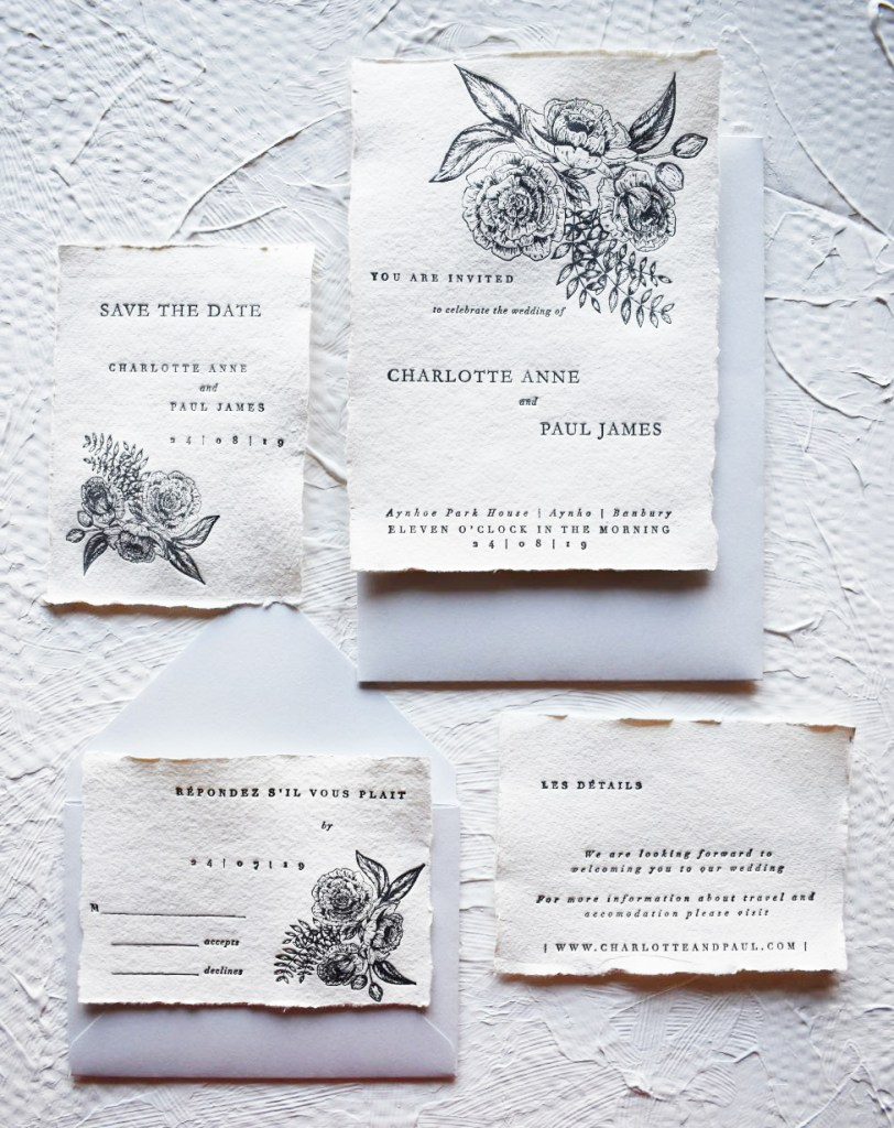 Semi-Custom Wedding Stationery