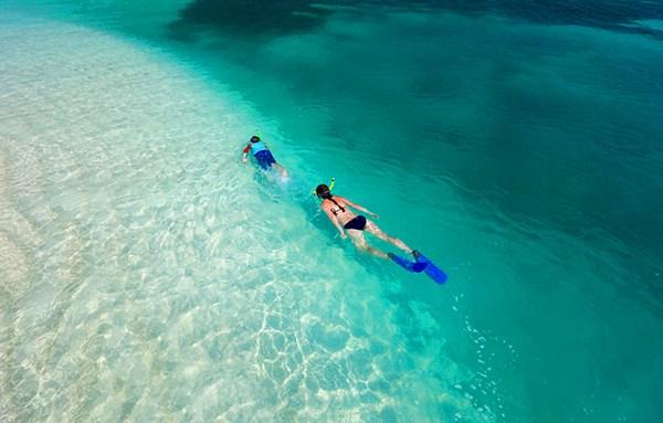 snorkeling ilot hienga