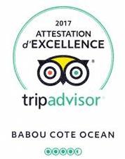 attestation d'excellence tripAdvisor 2017