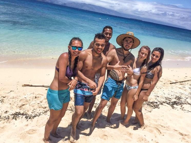 Miss et Misters Jeunesse Calédonie 2017 à l'îlot Hienga avec Babou Côté Océan