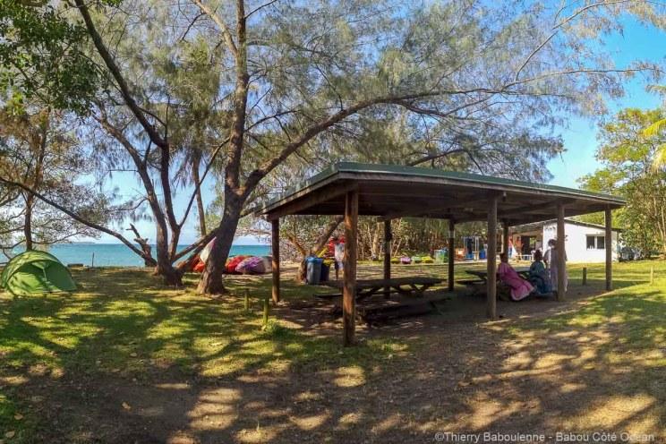 Camping Babou Côté Océan à Hienghène - Nouvelle Calédonie
