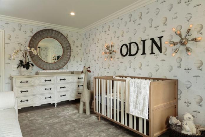 Baby boy's nursery