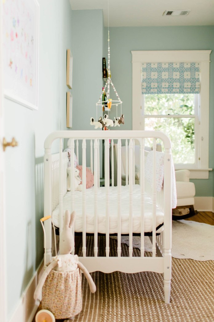 Bunny with Trolley and crib