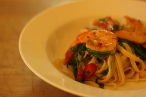 Prawn & Chilli Linguine