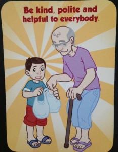Be kind polite