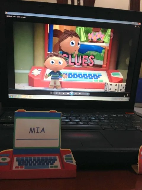 Jimmy's Ultra-Shiny Blog of Happiness: October 2009 |Super Why Duper Computer
