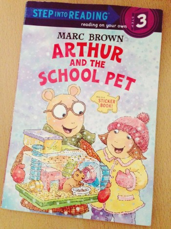Arthur and the School Pet Book