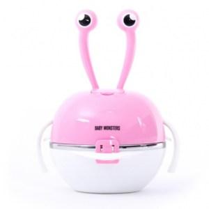 Baby Monsters eetset Bunny 4-8 maanden 5-delig roze