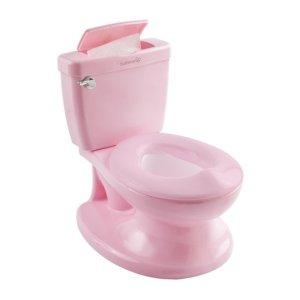 Plaspotje in de vorm van een echte WC voor kleine mensen