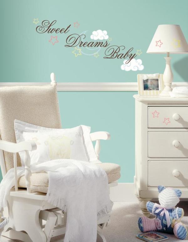 RoomMates muurstickers - Sweet dreams baby