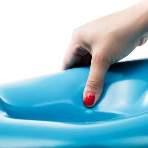 WC verkleiner Prince Lionheart Weepod Basix met een zachte zit oppervlak