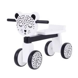 houten loopfietsje Leopard