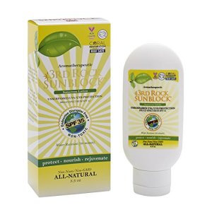 3rd Rock Sunblock Natural Organic Zinc Sunscreen