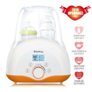 Elfinbaby Babebay 4-in-1 Baby Bottle Warmer and Sterilizer