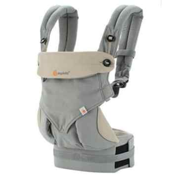 Ergobaby 360 Ergonomic Baby Carrier Ergobaby 360 All Carry Positions Award-Winning Ergonomic Baby Carrier, Grey