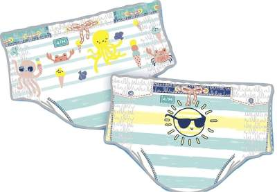 Pampers Disposable Splashers Swim Diapers