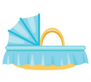 Icon: Portable Baby Bassinet