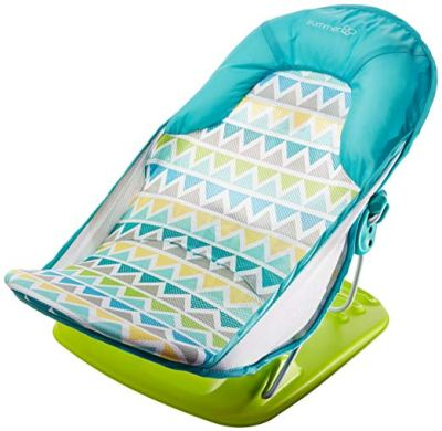 Summer Infant Deluxe Baby Bather Triangle Stripe