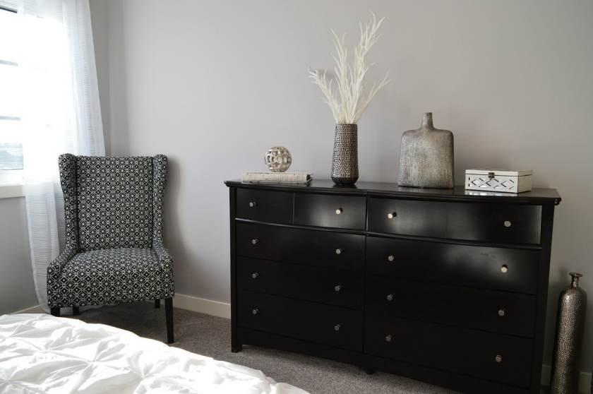 securing furniture and dresser in bedroom