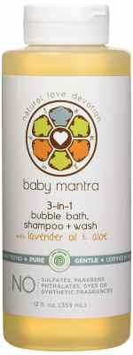 Baby Mantra 3-in-1 Bubble Bath
