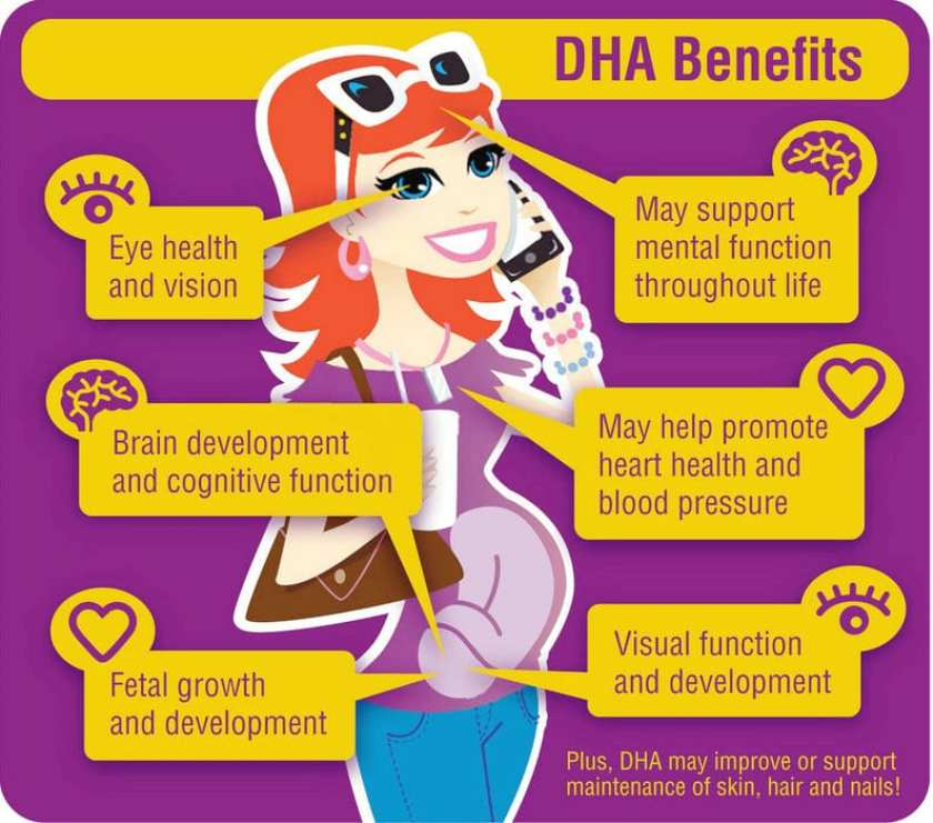 DHA benefits for pregnancy