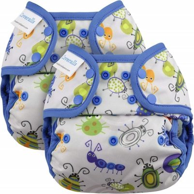 Blueberry One Size Coveralls Cloth Diaper