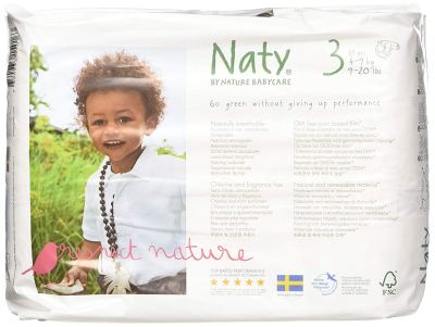 Eco by Naty Nature Disposable Diapers