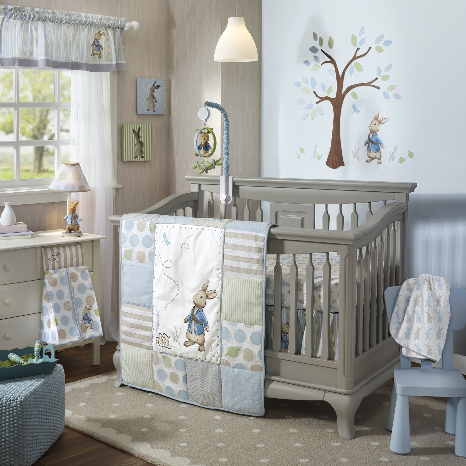 Lambs And Ivy Peter Rabbit Baby Bedding And Decor Baby Bedding And Accessories