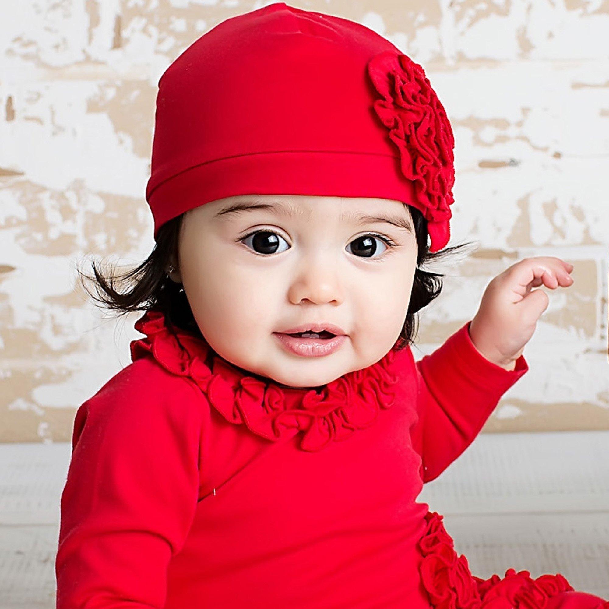 holiday baby hats-lemon loves layette-bijou-red