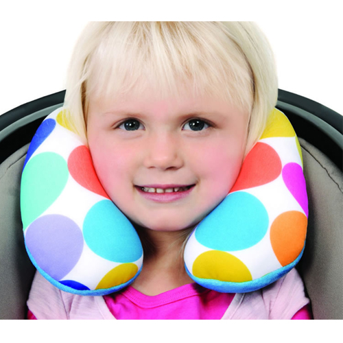 snuggletime microbead toddler neck cushion assorted colours