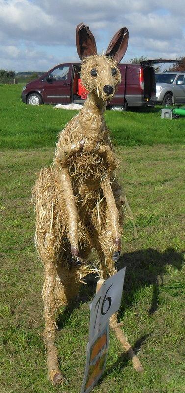 kangaroo scarecrow