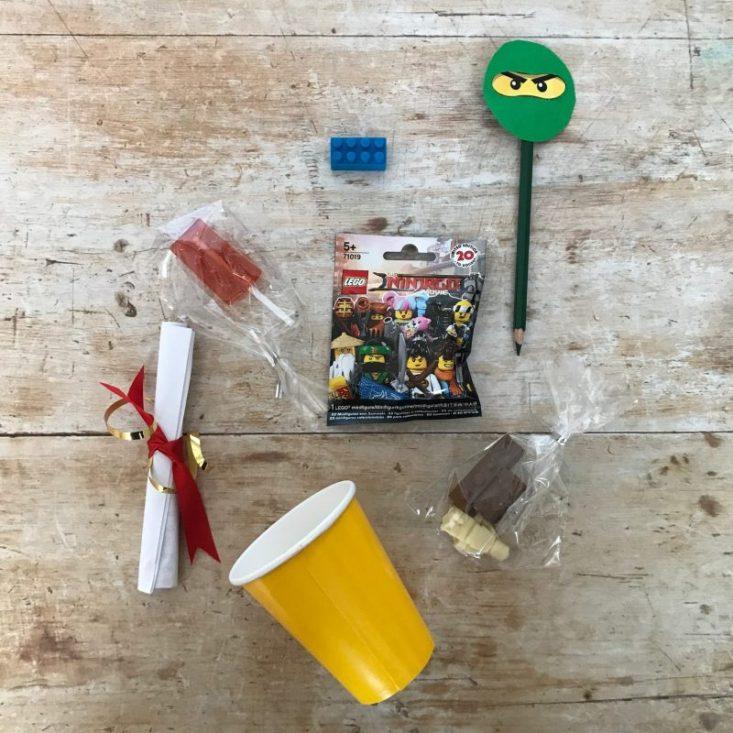 Ninjago favor bag, Ninjago treat bag, Ninjago party bag,Ninjago Party Ideas