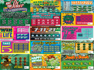 Used Lottery Tickets