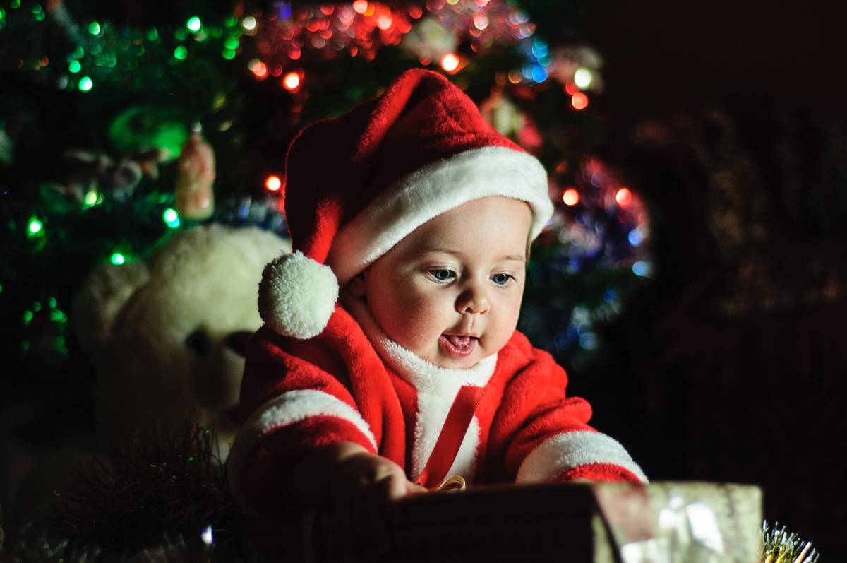 Make a baby's first Christmas special, How to make a baby's first Christmas special