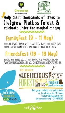 Greenpop Platbos Family Fest