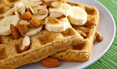20 merende dietetiche e sane per bambini - waffle 1