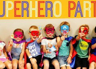 festa di compleanno 10 11 12 anni supereroi