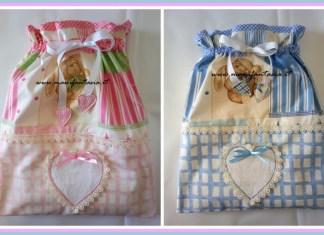 sacchettini neonato bimba bimbo