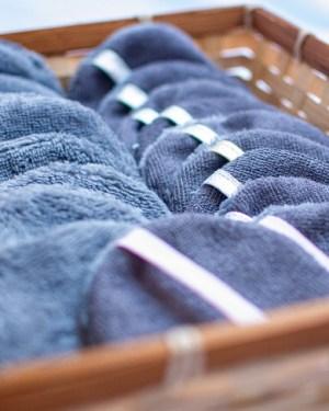 palet disque démaquillant lavable réutilisable zéro déchet efficace fait main