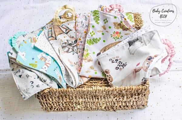 serviettes de cantine maternelle enfant fait main créatrice artisanale