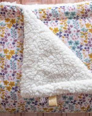 couverture bébé chaude douce fait main artisanale